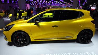 Une Clio au Mondial de l'automobile de Paris, en 2012.