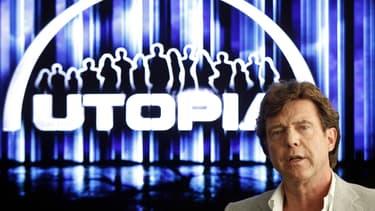 Le fondateur d'Endemol John de Mol in Laren va créer un géant de la production télévisée avec Rupert Murdoch.