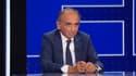 Eric Zemmour débat avec Jean-Luc Mélenchon sur BFMTV, le 23 septembre 2021.