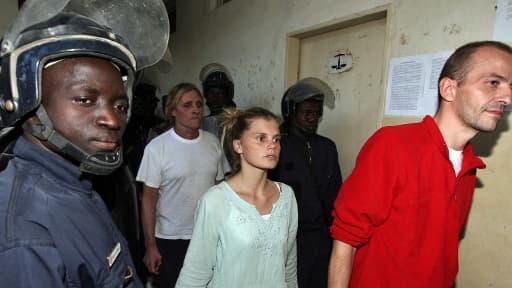 Alain Peligat, Emilie Lelouch et Eric Breteau au Tchad en 2007