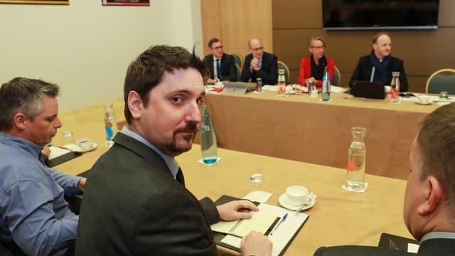 Laurent Brun, secrétaire général de la CGT Cheminots