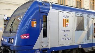 Photo d'illustration d'un train express régional