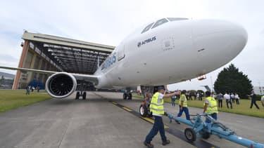 Le premier A320 neo a été livré à la compagnie Lufthansa.