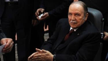 Abdelaziz Bouteflika lors des dernières élections présidentielles en avril dernier