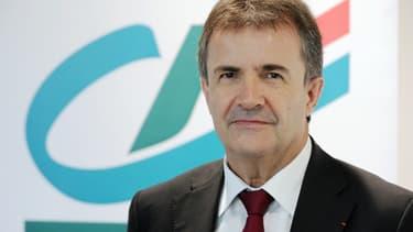 Philippe Brassac, président de la Fédération bancaire française (FBF) et directeur général du Crédit Agricole.