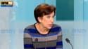 Roselyne Bachelot salut l'annonce de François Hollande de mettre fin au statut de membre de droit du Conseil constitutionnel des anciens présidents, le 7 janvier 2013 sur BFMTV