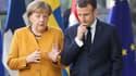 Theresa May, a rencontré consécutivement mardi la chancelière allemande, Angela Merkel, et le président français, Emmanuel Macron, pour qu'ils soutiennent sa nouvelle demande de report lors du sommet européen de mercredi