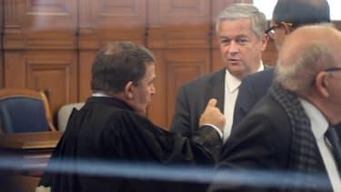 Jean-Marie Messier lors de son procès devant la cour d'appel de Paris