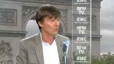 Nicolas Hulot était l'invité de BFMTV et RMC ce vendredi.