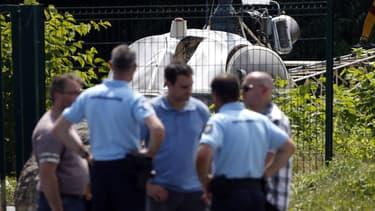 L'hélicoptère ayant servi à l'évasion de Redoine Faïd a été retrouvé dans le Val-d'Oise.