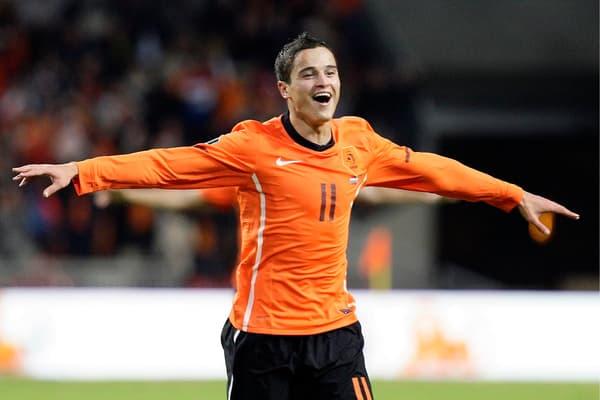 Afellay avec la sélection néerlandaise