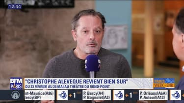 """Scène sur Seine: L'interview de Christophe Alévêque, à l'affiche de """"Christophe Alévêque revient bien sûr"""" au théâtre du Rond-Point"""