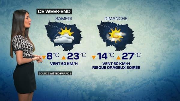 Un week-end estival est prévu après une semaine maussade à Paris.