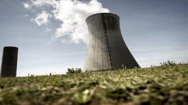Vue de la centrale nucléaire du Tricastin (Drôme).