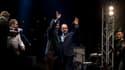 François Hollande et Jack Lang à l'Institut du Monde arable dimanche 21 juin à l'occasion de la Fête de la musique