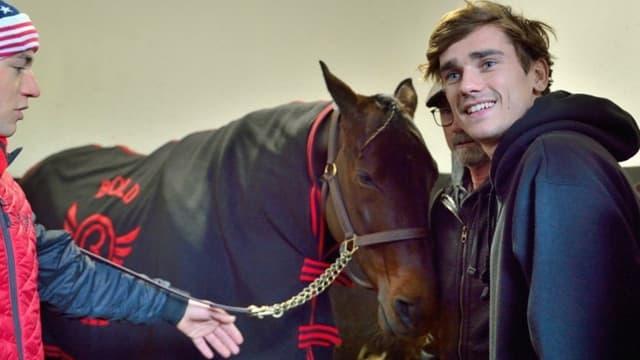 Antoine Griezmann est propriétaire de chevaux de course depuis 2017