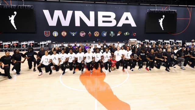 Les joueuses des Washington Mystics soutiennent Jacob Blake