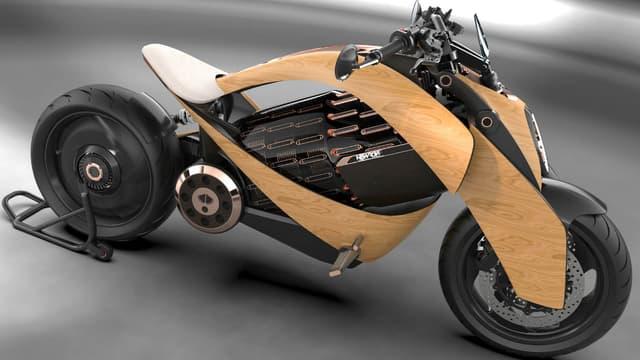 L'EV1 est le premier modèle de la start-up française Newron, basée dans le Val d'Oise.