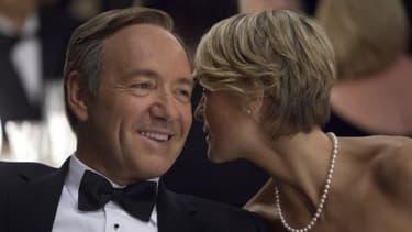 """Frank Underwood, le héros de la série """"House of Cards"""", interprété par Kevin Spacey"""
