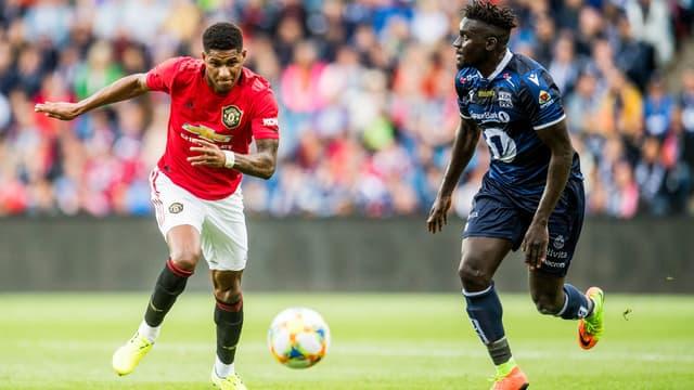 Kristiansund en amical contre Man. Utd