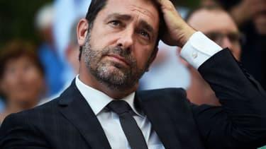 Christophe Castaner doit être élu samedi à la tête du parti. - ANNE-CHRISTINE POUJOULAT / AFP