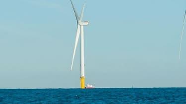 D'une capacité de 500 MW, le futur parc sera composé de 71 éoliennes localisées entre 13 et 22 km au large des côtes de la Manche (Fécamp), pour une mise en service à l'horizon 2023.