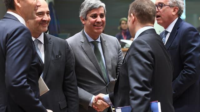 Mario Centeno, le président de l'Eurogroupe.