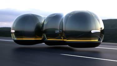 Un étudiant en designe a dessiné cette Renault autonome, en suspension dans l'air et connecté, dans le cadre d'un concours organisé en partenariat avec la marque française.