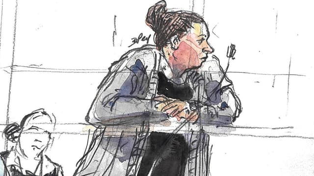 Neuf ans de prison requis contre la jihadiste Inès Madani.