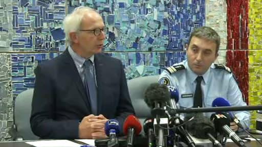 Eric de Valroger, lors de la conférence de presse.
