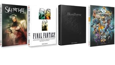"""""""Silent Hill"""", """"Final Fantasy"""", """"Bloodborne"""" ou encore """"Overwatch"""" font l'objet de guides, beaux livres et Artbooks."""