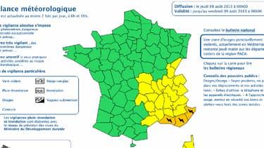 Météo France a levé l'alerte aux orages sur la plupart de la France.