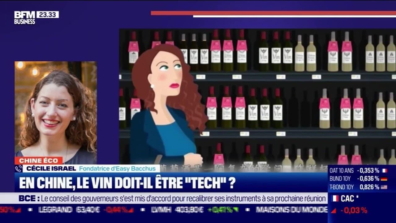"""Chine Éco : le vin doit-il être """"tech"""" en Chine ? par Erwan Morice - 29/10"""