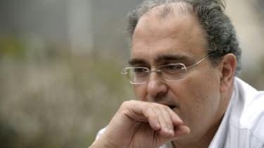 L'ancien député DVG de Corse Paul Giacobbi à Venaco le 21 mars 2010
