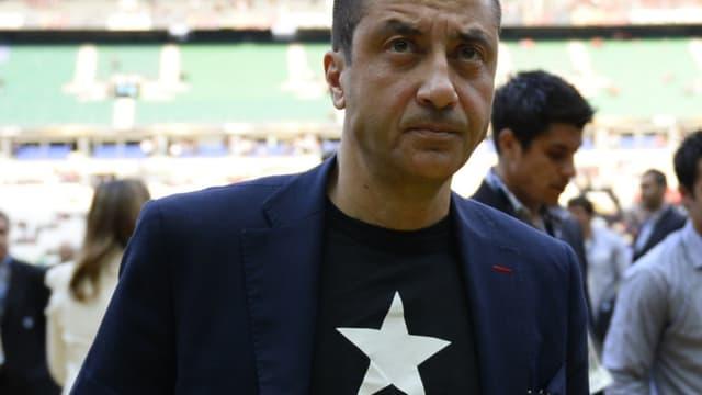 Mourad Boudjellal, le président du RCT