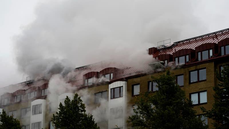 Suède: 16 blessés lors d'une explosion suspecte dans un immeuble à Göteborg