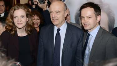 Alain Juppé est venu soutenir NKM et son porte-parole Pierre-Yves Bournazel dans le 18ème arrondissement de Paris.