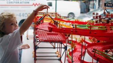 Le fabricant américain de jouets K'nex vient de relocaliser sa production aux Etats-Unis.