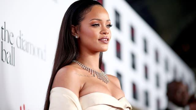 Rihanna en décembre 2015