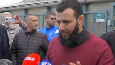 Amed Hilali, l'un des imams de la mosquée de Gonesse. - BFMTV