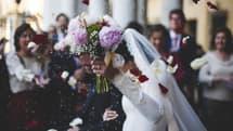Photo d'illustration d'un mariage.