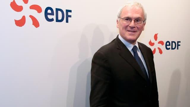 Jean-Bernard Lévy est le PDG d'EDF depuis 2014.