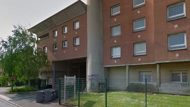 Une résidence du Crous, aux abords de Lille 3.