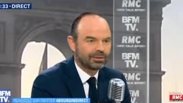 Le Premier ministre était l'invité de BFMTV-RMC.