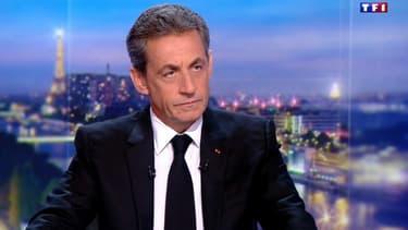 Nicolas Sarkozy au JT de 20 heures