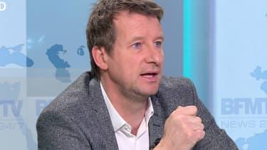 Yannick Jadot, 'eurodéputé EELV, chez Ruth Elkrief sur BFMTV le 14 janvier 2016.