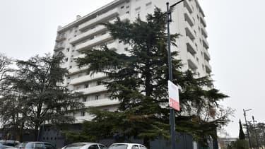 Un immeuble du quartier des Izards, à Toulouse, le 5 décembre 2017.
