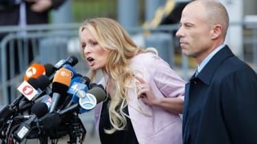 L'actrice de films pornographiques Stormy Daniels, actuellement en litige judiciaire avec Donald Trump, a été arrêtée mercredi pour un délit mineur.