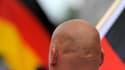 Un neonazi, le 17 juin 2012, à Dresde.