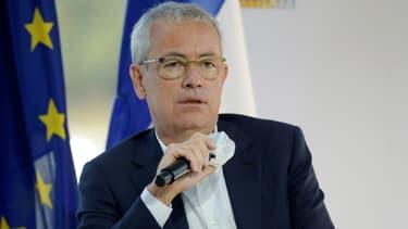 Le président d'Engie Jean-Pierre Clamadieu, à la réunion du Medef à Paris le 27 août 2020